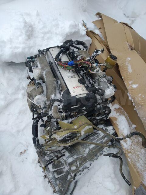 Двигатель в сборе + акпп 1jz-gte vvti AT jzs171