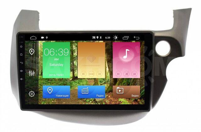 "Carmedia Honda Fit, Jazz 2007 - 2013(экран 10"")штатная магнитола"