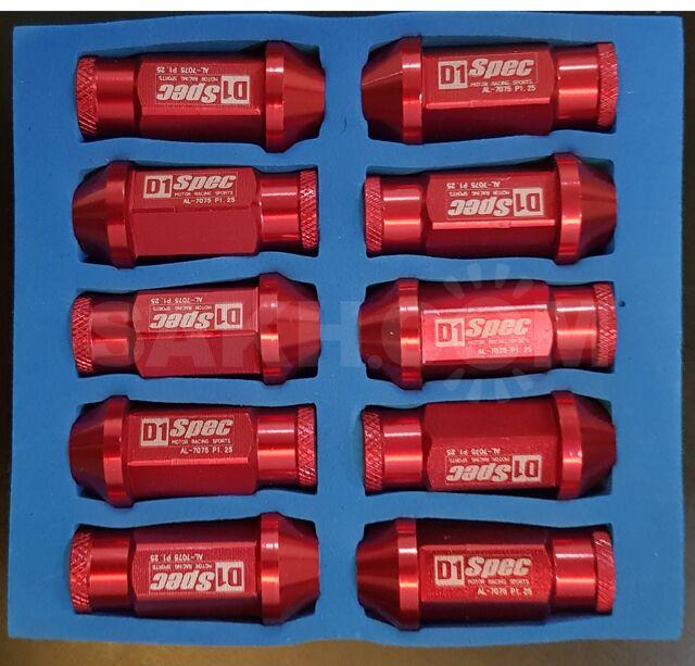Колесные гайки D1 Spec Nissan 20 шт, новые, Китай