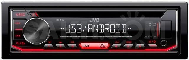 """JVC KD-T402 от ФС """"Угона.нет"""""""