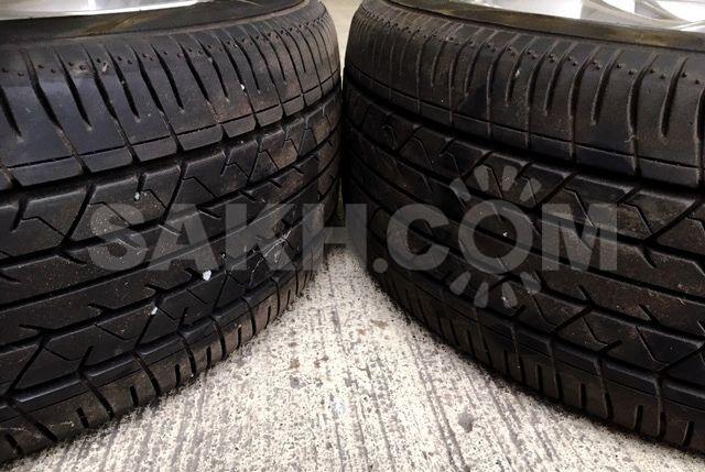 Только 2 шины 235/55/18 Bridgestone Potenza RE031, Japan