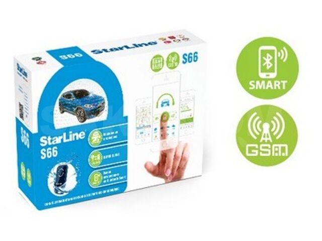 "Автосигнализация Starline S66BT GSM от ФС ""Угона.нет"""