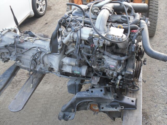 продам без пробежный двигатель TD27 на терано PR50 Авторазборка