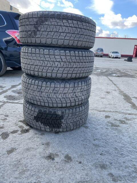 Продам комплект колёс в сборе с резиной Bridgestone 255/55/18