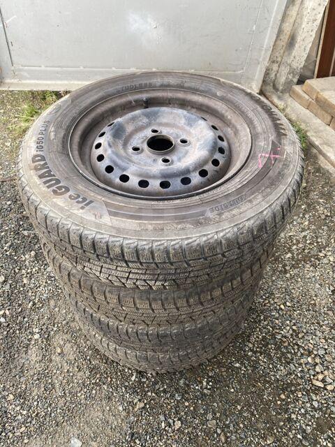 Комплект колес с зимней Японской резины Yokohama 155/80R13