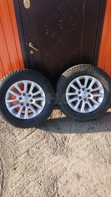 Комплект колёс на прадо (зима) 265/60R18