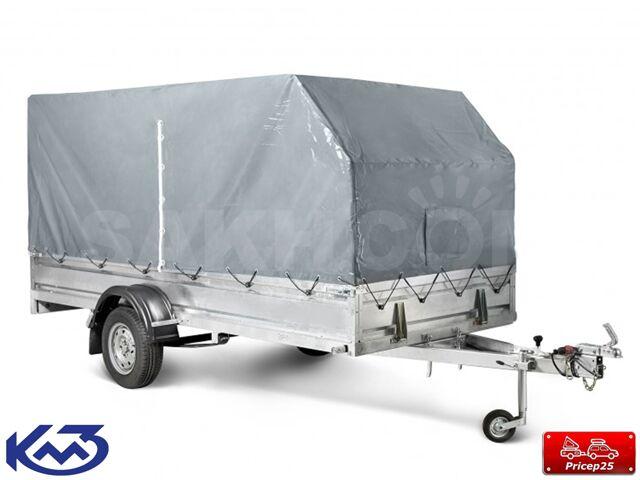 """Прицеп """"Оптима"""" кузов 3х1,5м (тент 1,5 м)"""