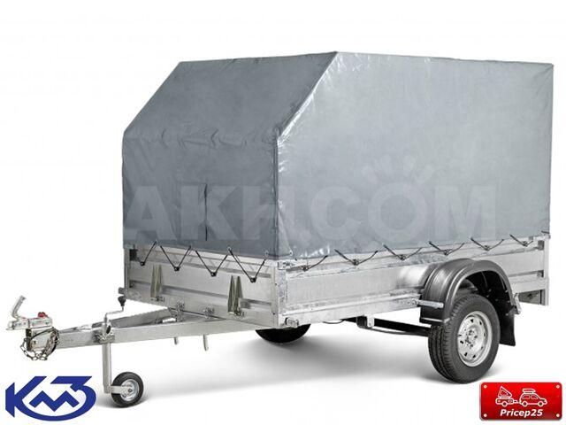 """Прицеп """"Квадро"""" кузов 2,5х1,5м (тент 1,5 м)"""