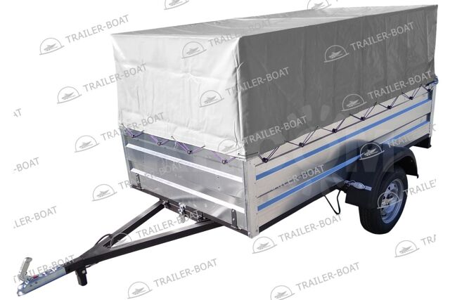 "Прицеп бортовой для перевозки грузов (2,5х1,3 рес/13"", каркас, тент)"