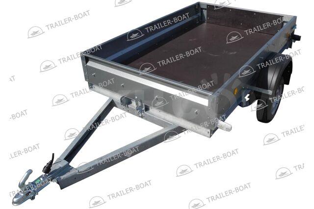 Прицеп Трейлер 2,5 x 1,5 м R13 для техники и груза, самосвальный тип,