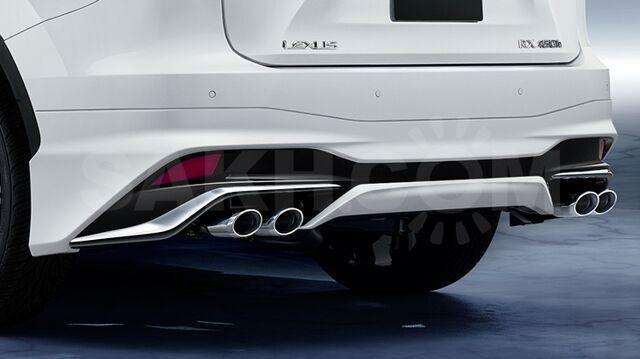 Задняя губа Lexus Rx 350 AL 20 Modellista