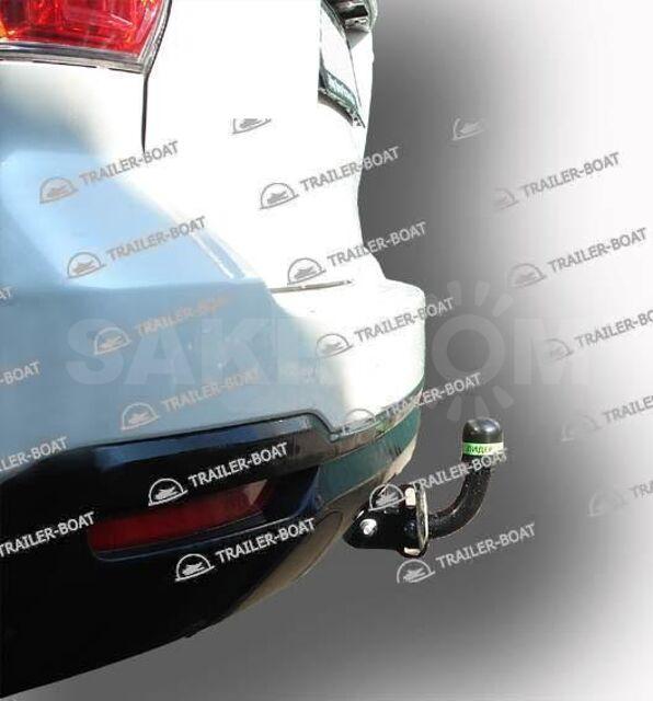 Фаркоп Subaru Forester 2012-2019, рама и крюк шар 50 мм, 5076