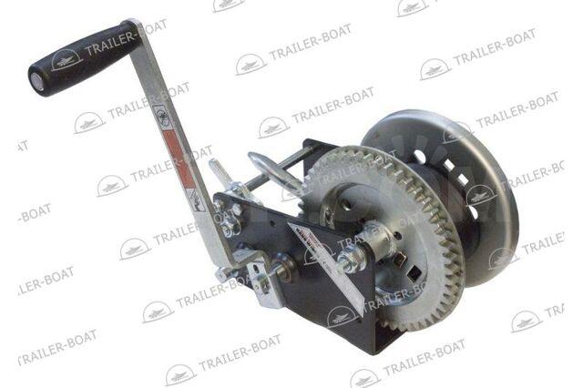 Лебедка ручная барабанная для прицепа Rock 1453 кг