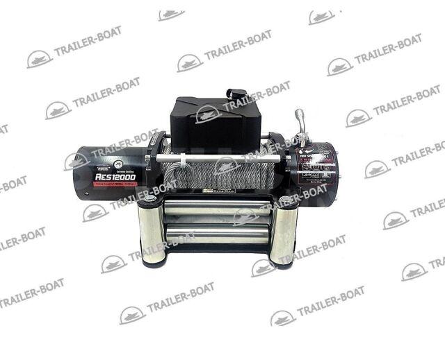 Лебедка автомобильная электрическая, 12V Rock RES 12000 LBS-SC