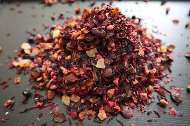 замена черного чая на травяной
