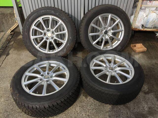 Фирменные диски Bridgestone Eco Forme с новой зимней резиной 235/60R18