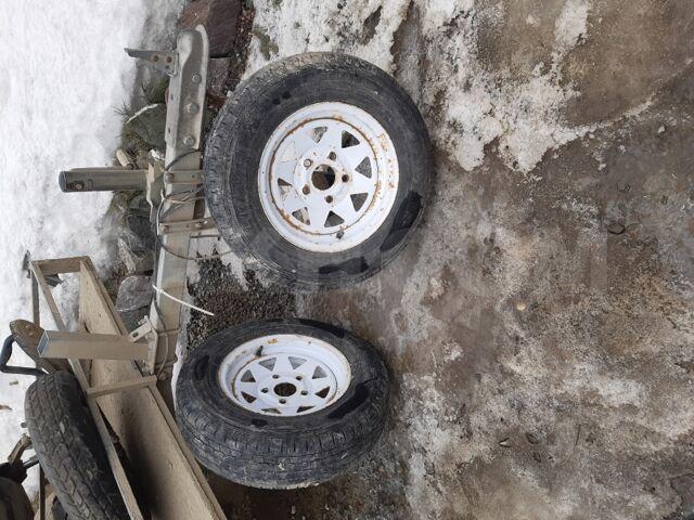 колёса от прицепа