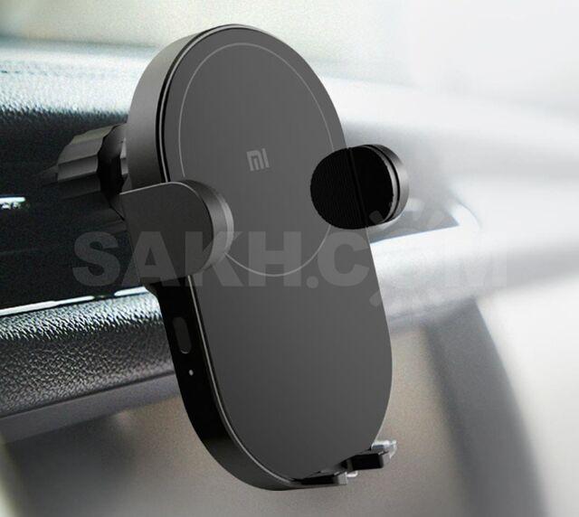 Держатель автомобильный сенсорный с беспроводной зарядкой 20W