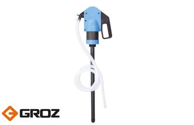 Пластиковый, сифонный, рычажный насос до 500 мл/ход GROZ Индия