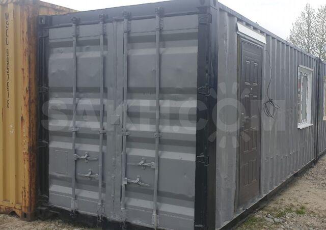 Бытовые модули на базе контейнеров - 250000 руб. Бизнес. Спецконструкции, контейнеры, киоски. Спецконструкции, контейнеры, киоски в Южно-Сахалинске. Объявления Сахалина