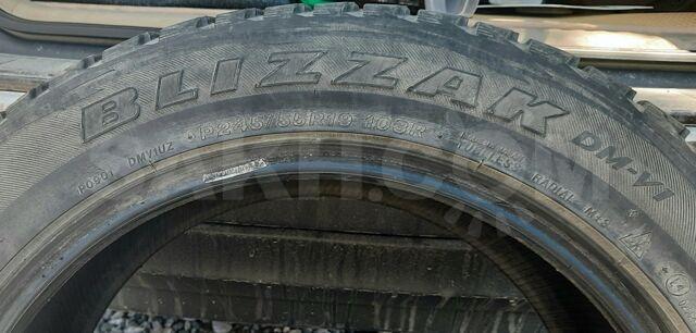 Bridgestone Blizzak 245/55/19