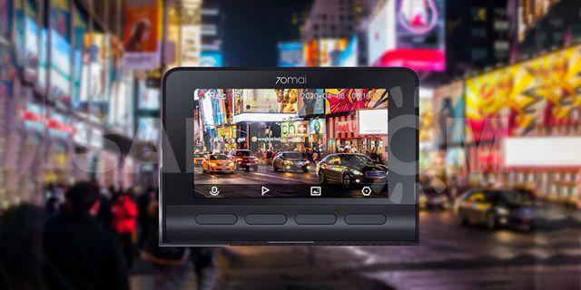 Видеорегистратор Xiaomi 70mai Dash Cam 4K A800S + Камера заднего вида