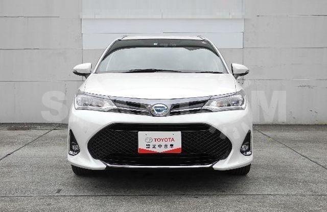 передний бампер Corolla Axio / Fielder NZE161 / NZE164 - 2017-2020 г.
