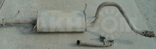 Глушитель  Suzuki Escudo