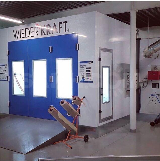 Окрасочно сушильная камера wiederkraft OCK WDK-SB210ER