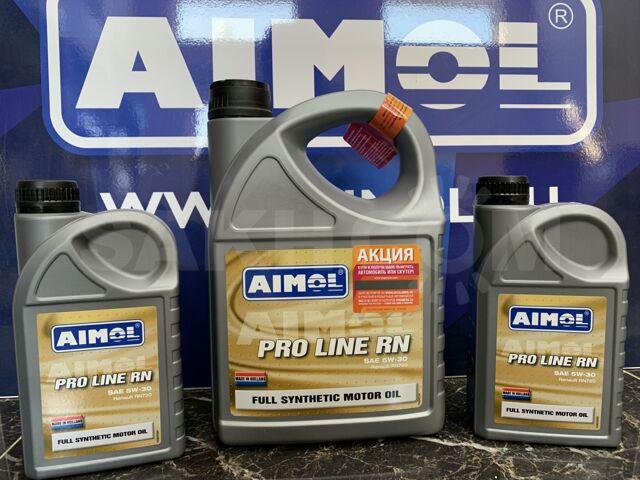 Синтет. моторное масло AIMOL (Голландия) PRO LINE RN 5W-30 ACEA C4