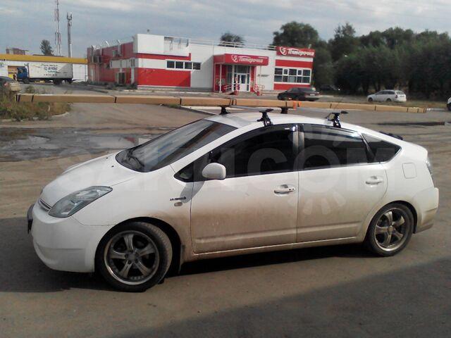 Поперечины багажник на крышу Toyota Prius 20