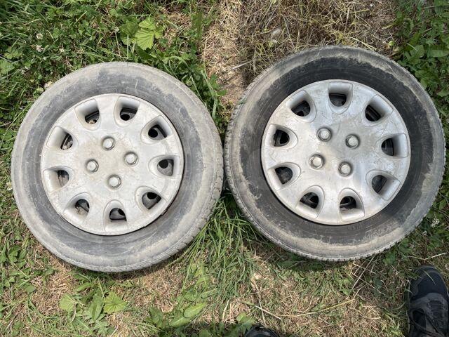 2колёса Резина на дисках 155/80 r13 Toyo, 4*100 дырки