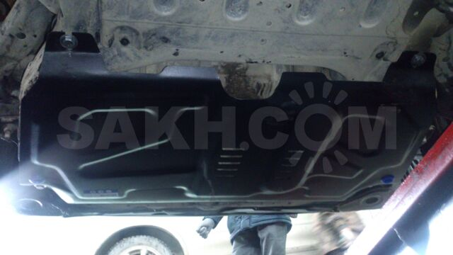 Защита двигателя на Lexus RX400