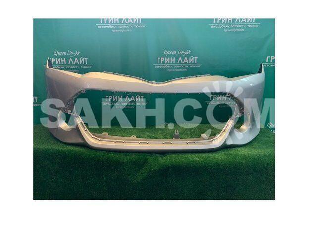 Передний бампер Axio/Fielder NZE161 / NZE164 цвет серый 1F7