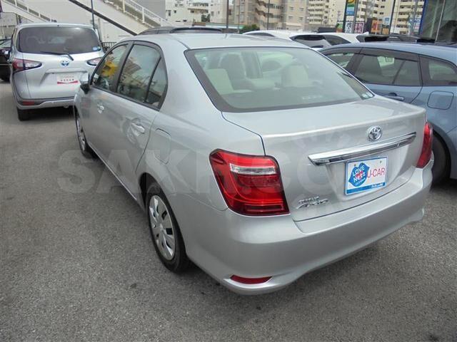 задний бампер Toyota Corolla Axio NZE164 / NKE165 / NZE161 2я модель