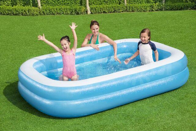 Детский надувной бассейн 262 х 175 х 51 см - 2450 руб. Спортивные и туристические товары. Другое. Другое в Южно-Сахалинске. Объявления Сахалина