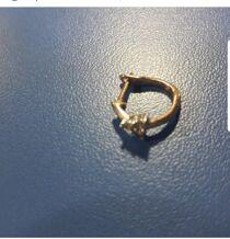 Не знаю, куда поместить тему. дочь потеряла золотую серьгу в.