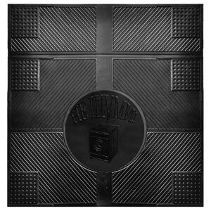 Коврик противовибрационный для бытовой техники НЕ ШУМИ! 65х62х0,6 см, цвет чёрный***