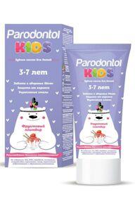 Зубная паста для детей 3-7 лет Пародонтол Baby фруктовый пломбир, 62г