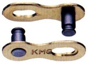 KMC Замок цепи 5-300052 6,6 мм (9 скор) пара на блист