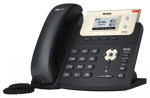 Телефон SIP Yealink SIP-T21P E2 {IP-телефон, 2 SIP линии, PoE, HD звук, BLF, БП, 2хRJ45 Ethernet}