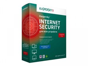 ПО Kaspersky Internet Security Multi-Device Russian Edition. 2-Device 1 year Base Box, первичная под