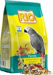 RIO Parrots Daily Ration - корм для Крупных попугаев, основной рацион. Вес: 0,5 кг