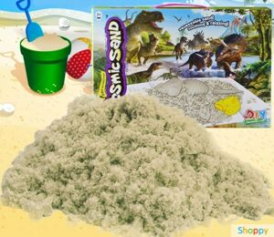 Кинетический песок Cosmic Sand Динозавры