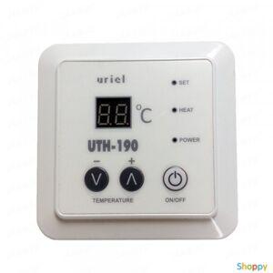 Производитель не указан Терморегулятор встраиваемый электронный UTH-190 (2.6 KW)