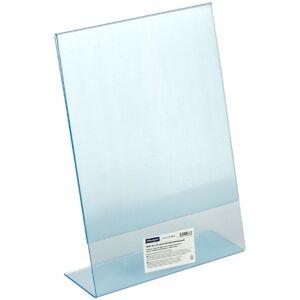 Тейбл-тент (подставка для рекламы) OfficeSpace, А4, односторонний, вертикальный