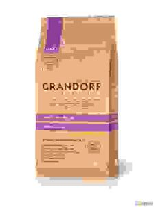 Grandorf Lamb & Rice Maxi - для собак Крупных Пород, Ягнёнок с Рисом. Вес: 12 кг