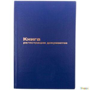 Книга регистрации документов А4 96л обл. бумвинил 1/10 (р189908)