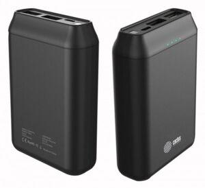 Мобильный аккумулятор Cactus CS-PBFSST-10000, Li-Pol 10000mAh 2A+2.4A черный 2xUSB