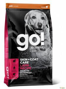 GO! Skin&Coat - для щенков и собак со свежим Ягненком. Вес: 1,59 кг